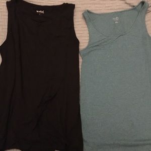 2 Large Isabel Maternity tanks